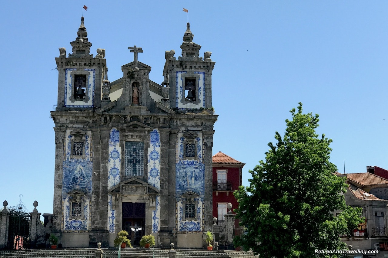 Church Igrejade S. Ildefonso - Art Everywhere When We Walked Around Porto.jgp