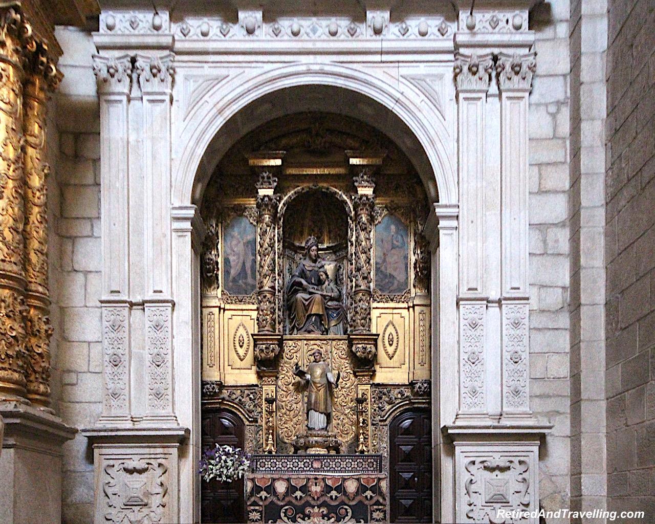 Church Se Cathedrale - Art Everywhere When We Walked Around Porto.jgp