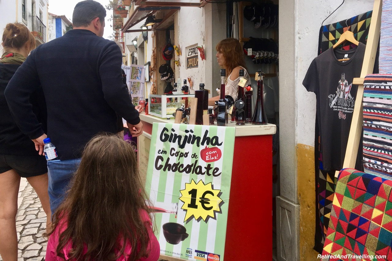 Ginja and Chocolate Sold In The Streets - Ginja In Obidos.jpg