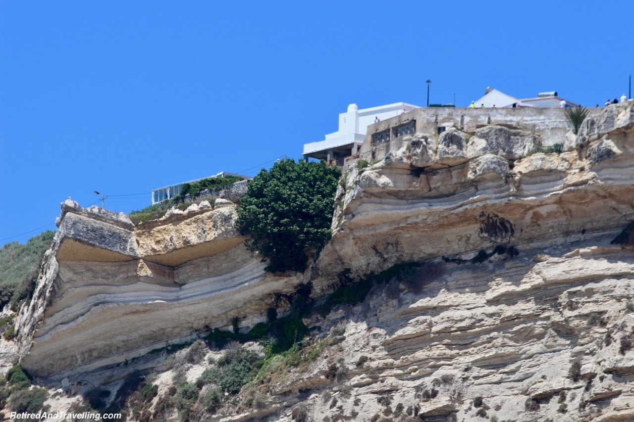 Beach Cliff Houses - Beach Town of Nazaré.jpg