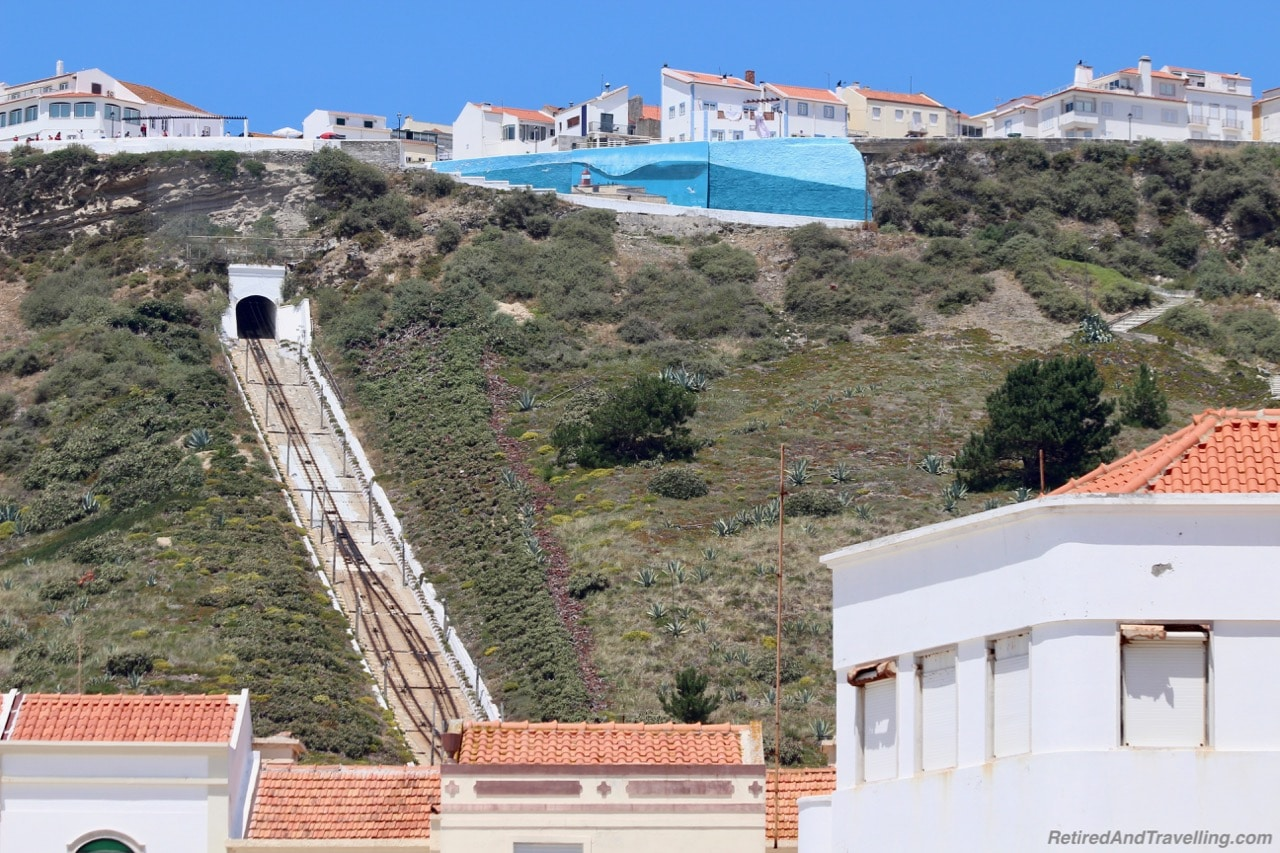Beach Cliffs Funicular - Beach Town of Nazaré.jpg