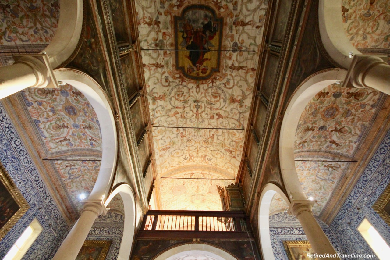 St Mary's Church Portuguese Tiles - Stay In The Walled City of Obidos.jpg