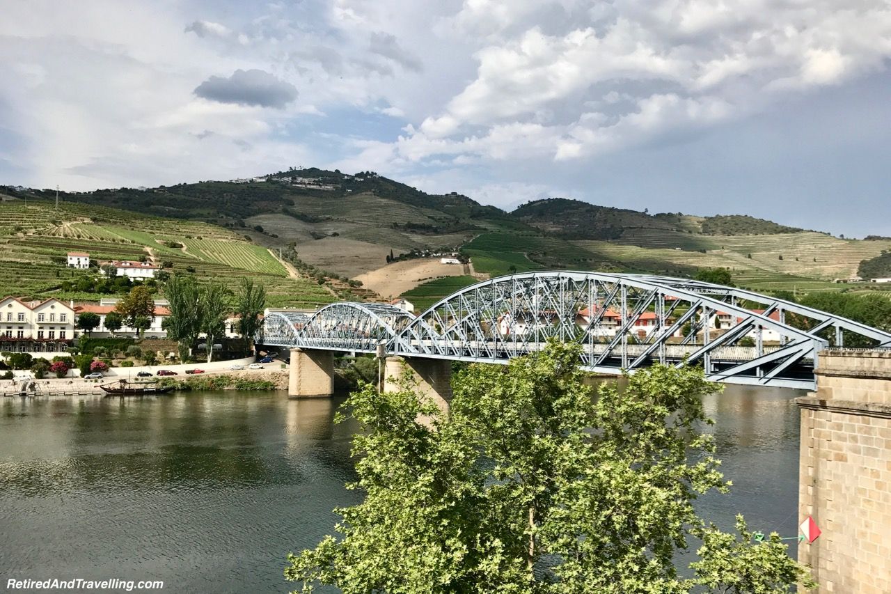 Arriving in Pinhao - Driving Along the Douro River Valley.jpg