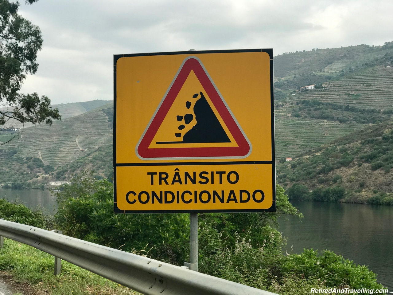 Falling Rock On N108 Route - Driving Along the Douro River Valley.jpg