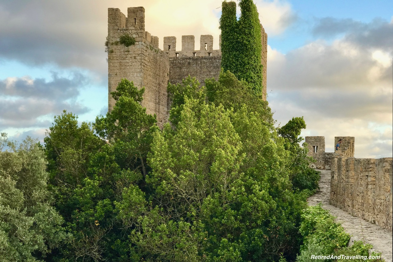 Tower On The Wall - Walk On Castle Walls in Obidos.jpg
