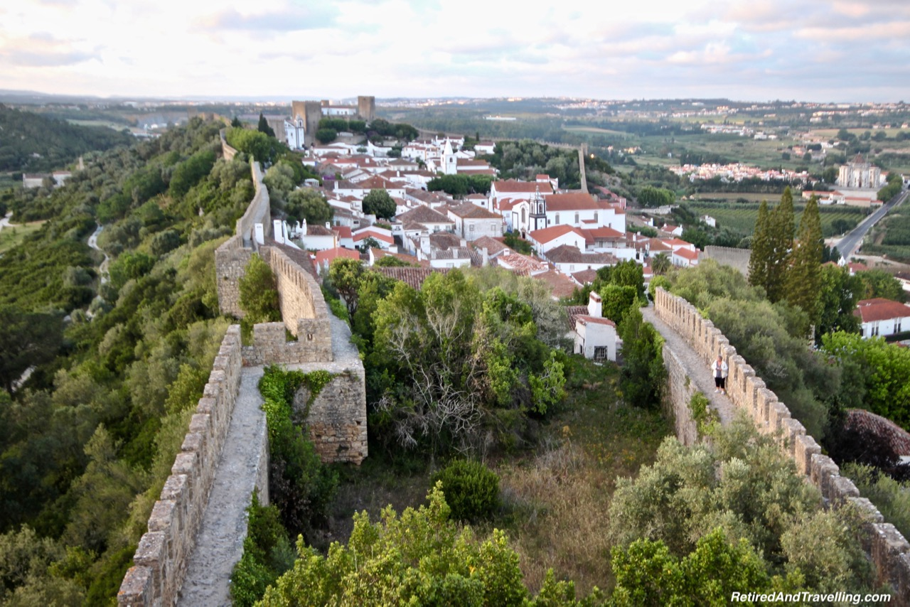 View From The Tower - Walk On Castle Walls in Obidos.jpg