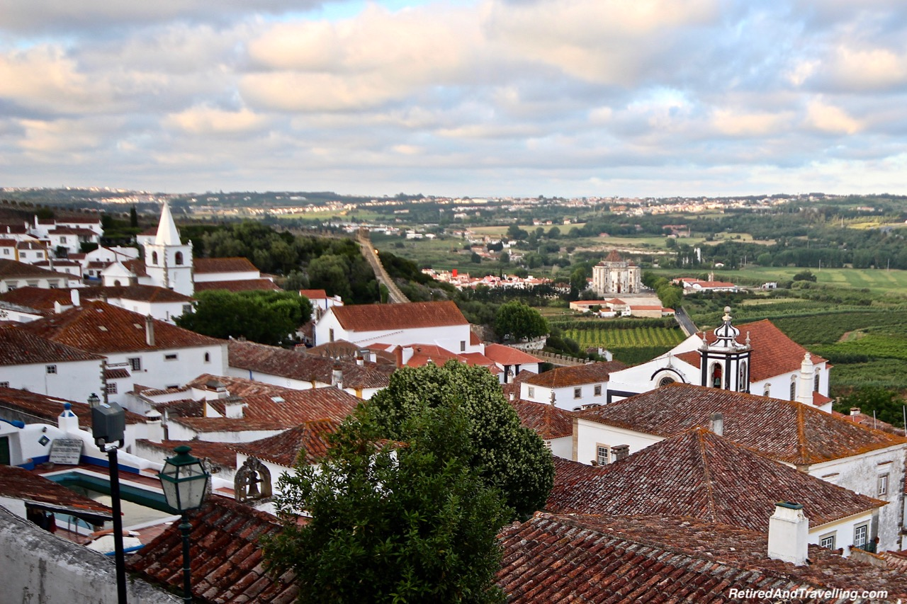 Sanctuaire du Seigneur Jesus de la Pierre From The Wall - Walk On Castle Walls in Obidos.jpg