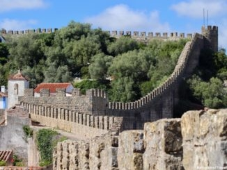 Walk On Castle Walls in Obidos.jpg