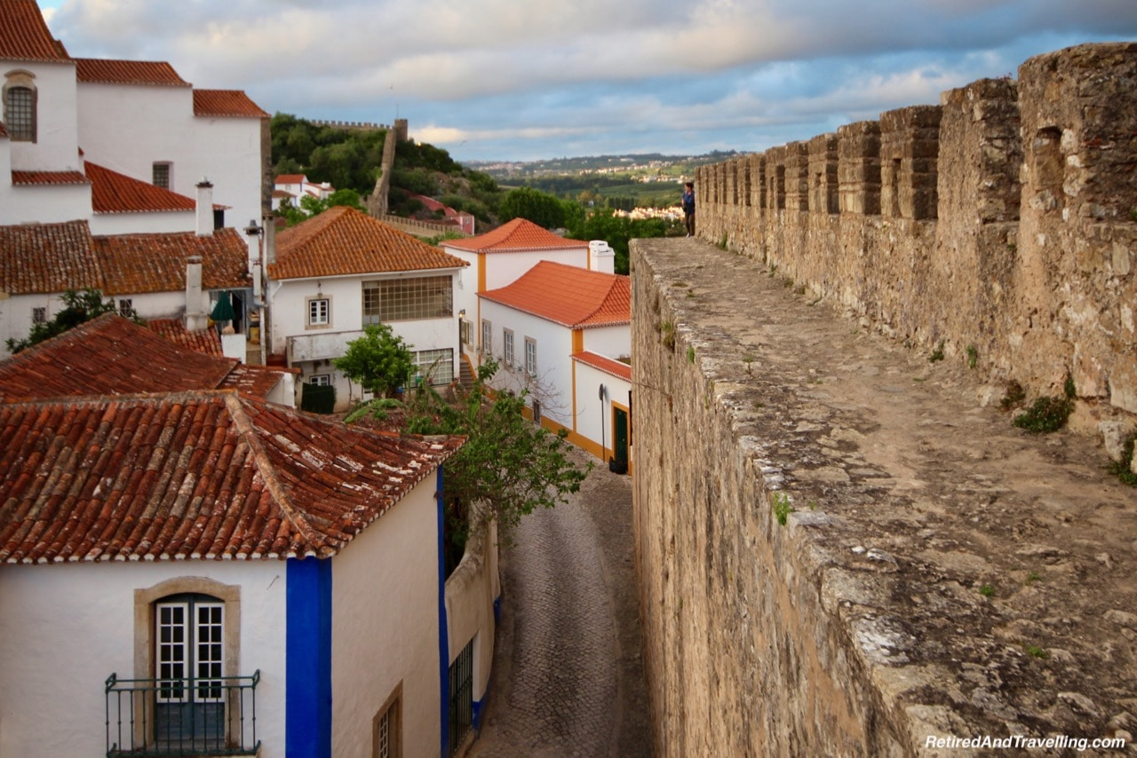 Path On The Wall - Walk On Castle Walls in Obidos.jpg