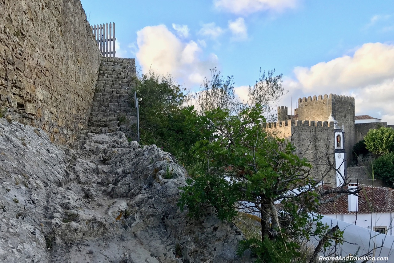Walk Up To The Wall - Walk On Castle Walls in Obidos.jpg