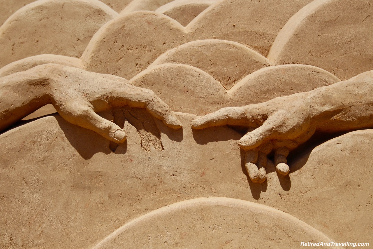 Michaelangelo David Detail Sand Sculpture - Sand City Algarve.jpg