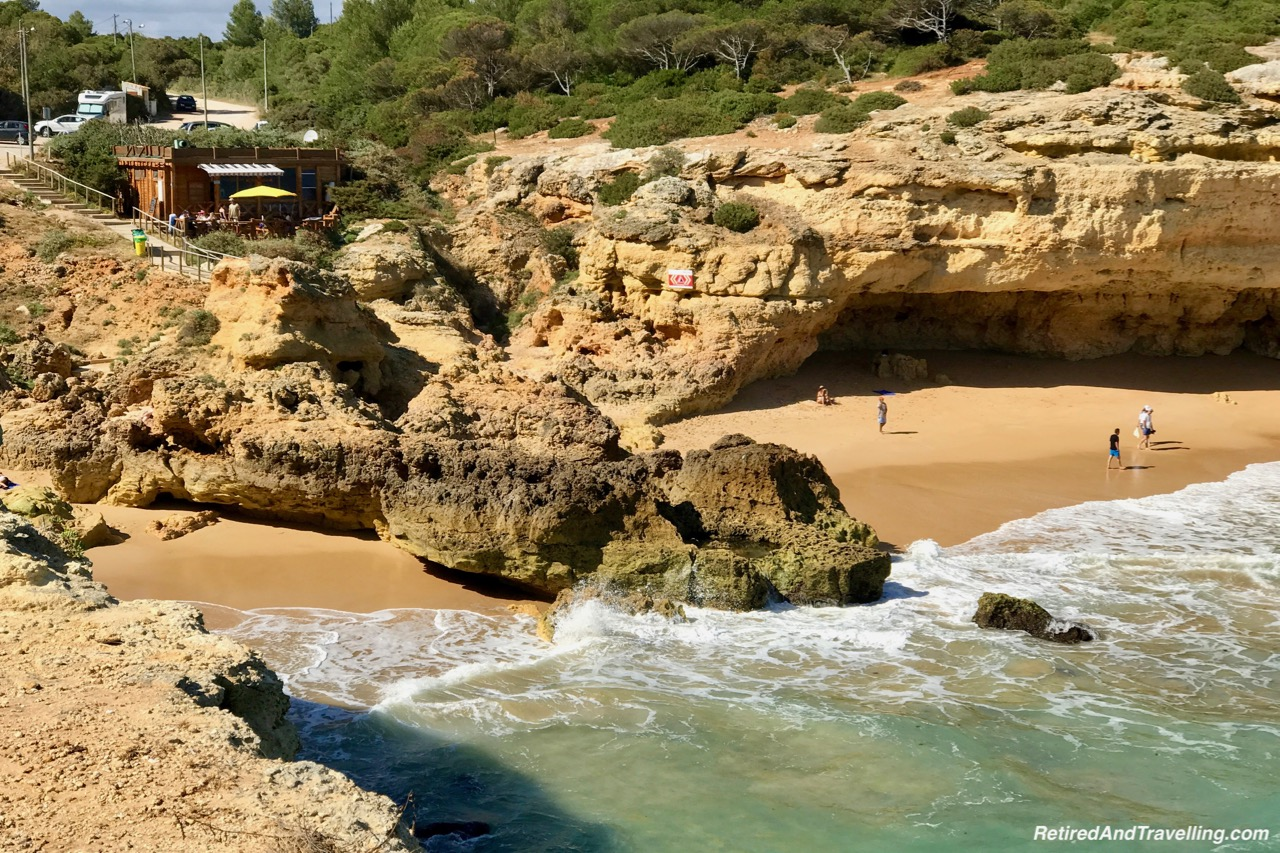Praia da Albandeira - View Of The Algarve Cliffs.jpg