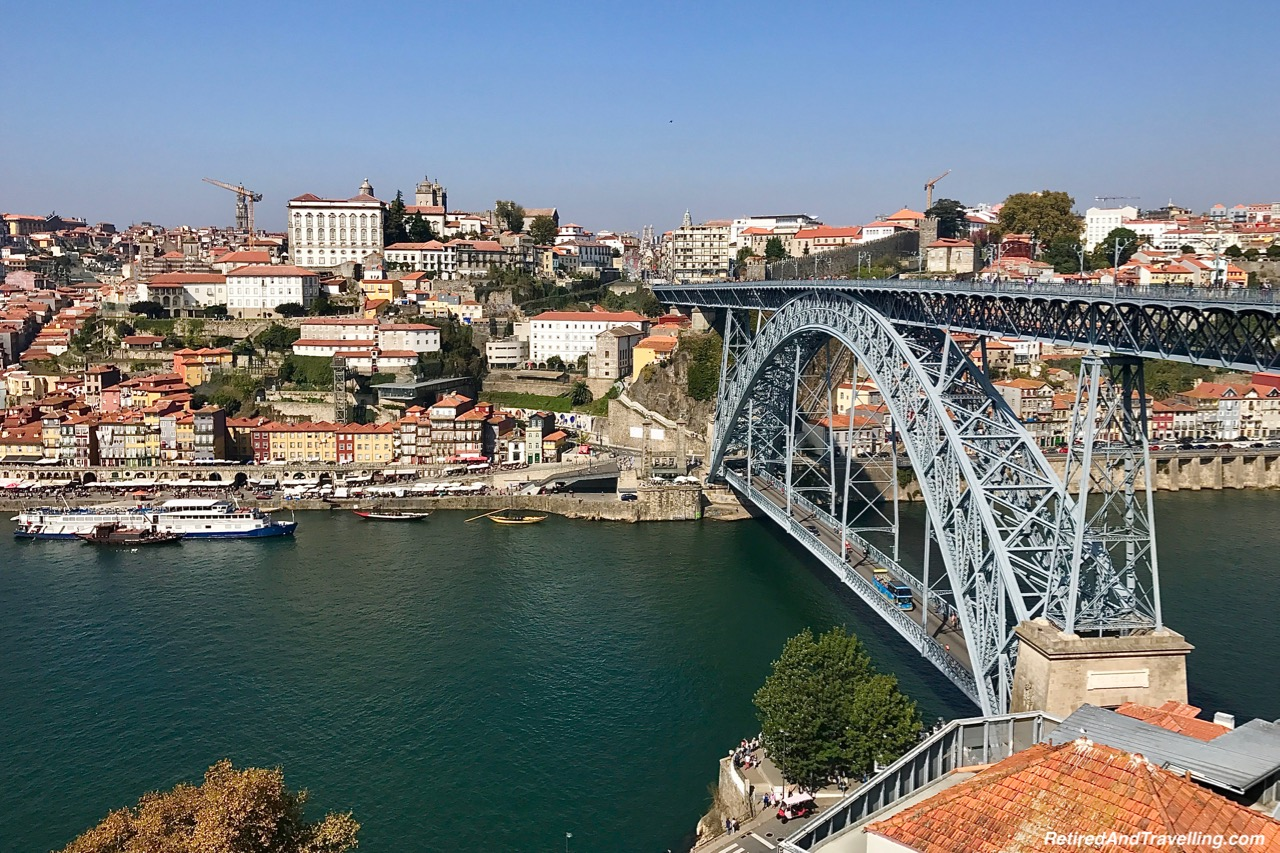 Luis I Bridge at Morro Gardens - Port Tasting In Porto.jpg