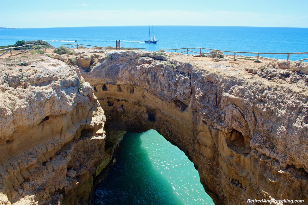 Arches, Cliffs and Rock- View Of The Algarve Cliffs.jpg