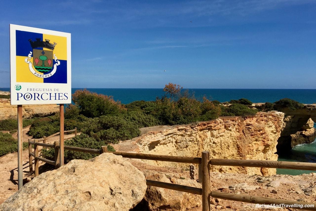 Algarve Cliffs in Albandeira - South to the Algarve Portugal.jpg