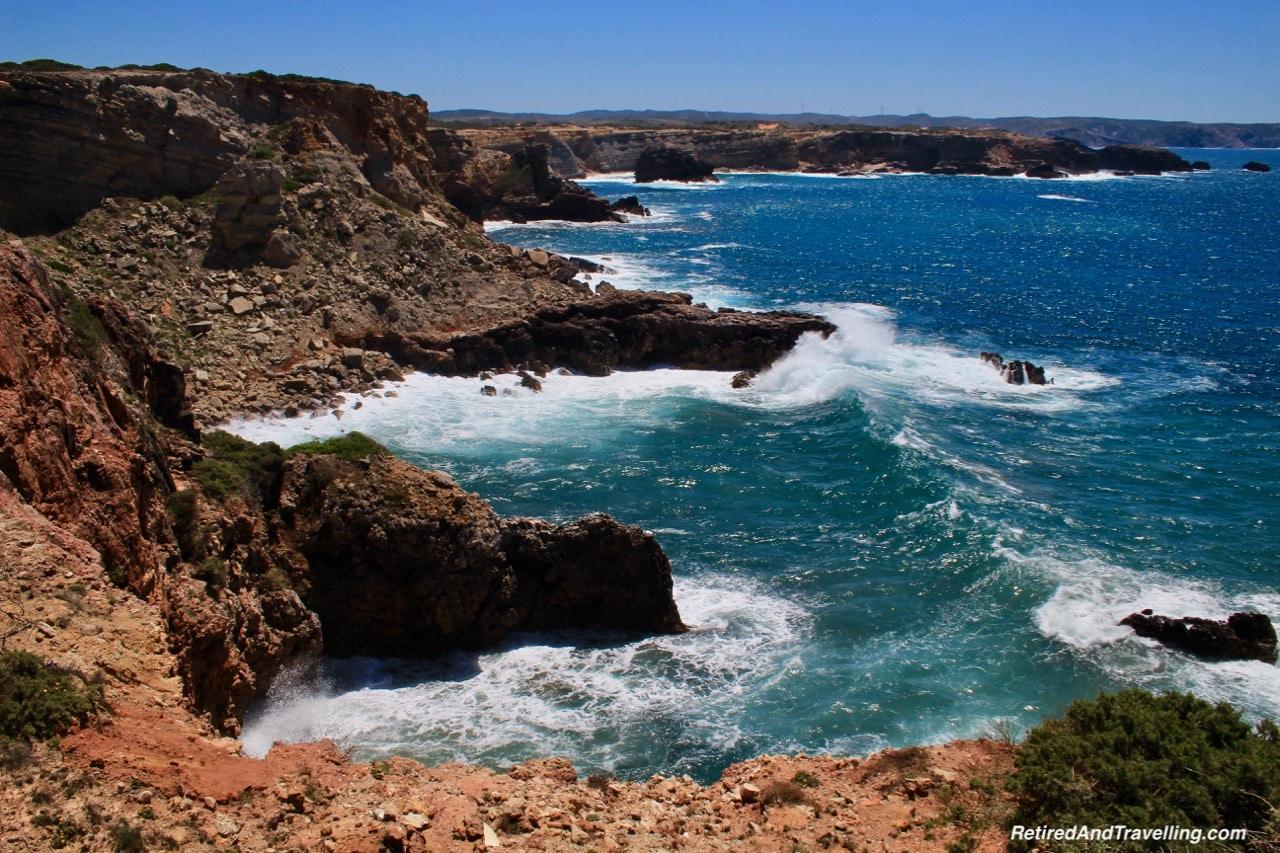Algarve Cliffs in Bordeira - South to the Algarve Portugal.jpg
