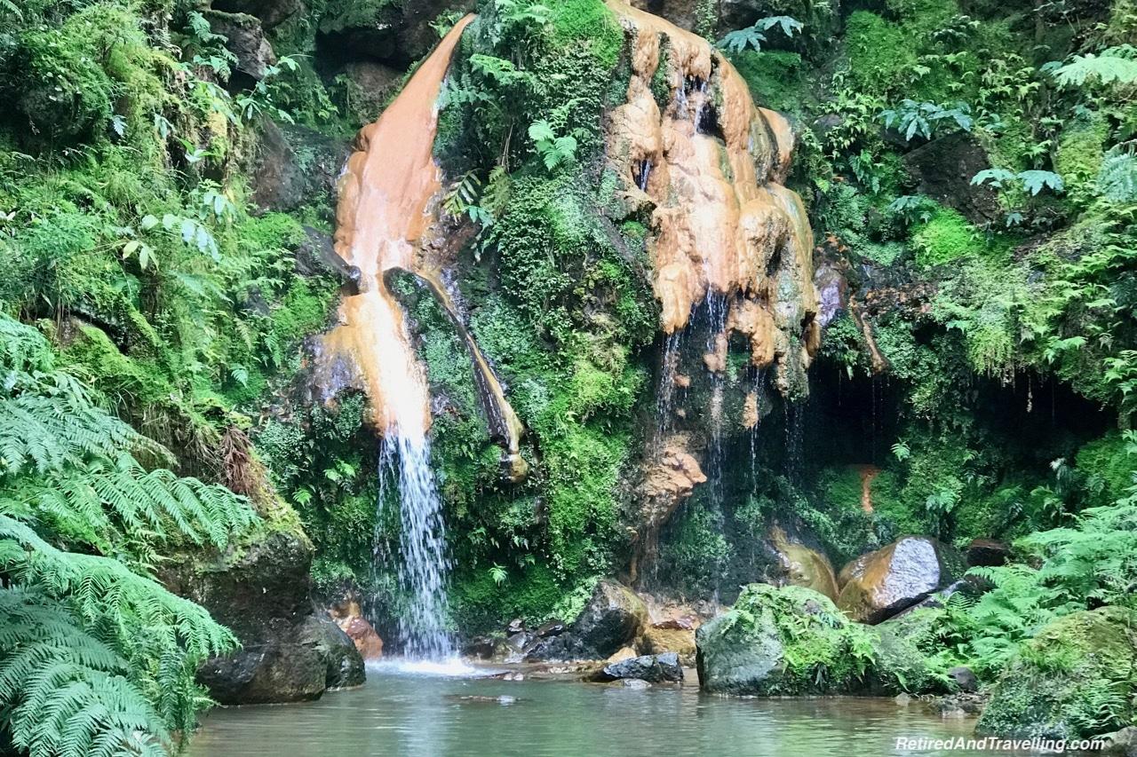 Caldeira Velha Waterfalls and Thermal Baths - Pounding Surf on Sao Miguel.jpg