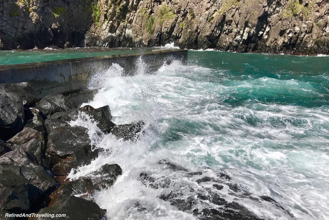 Caloura Port Breakwater - Pounding Surf on Sao Miguel.jpg