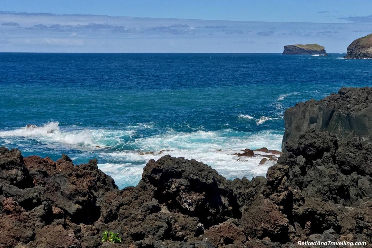 Ferraria Volcanic Rocks - Volcanic Setting of Sete Cidades Sao Miguel Azores.jpg