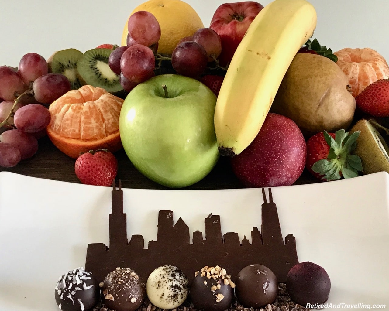Intercontinental Chicago Chocolate Skyline View - Eclectic Chicago Architecture.jpg
