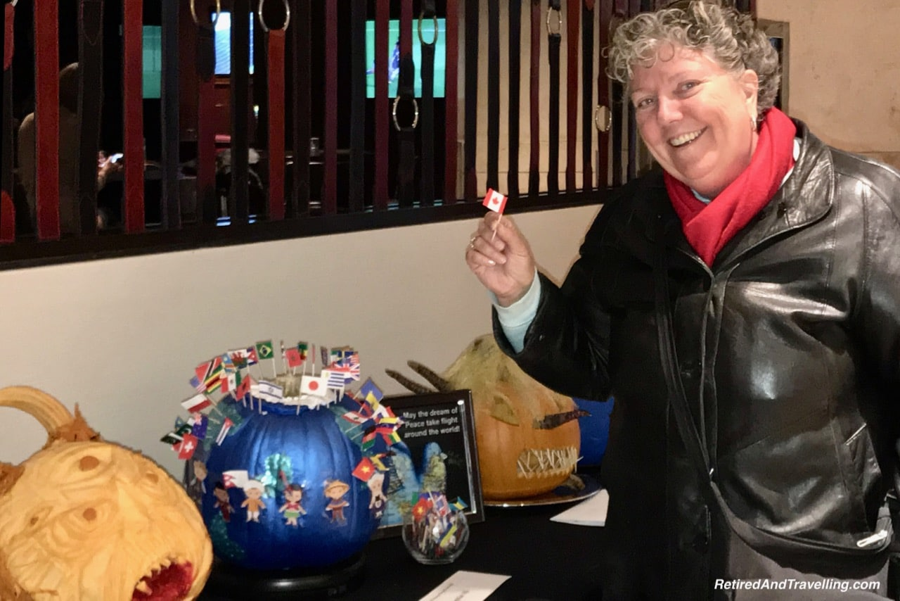 Intercontinental Chicago Magnificent Mile Halloween Pumpkins - Things To Do - 3 Days In Chicago.jpg