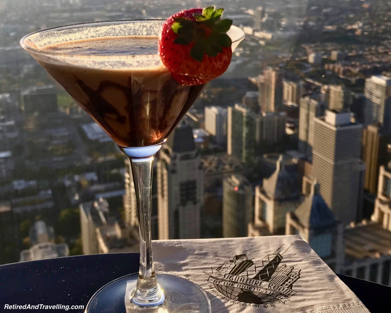 John Hancock Signature Lounge Drink - Things To Do - 3 Days In Chicago.jpg