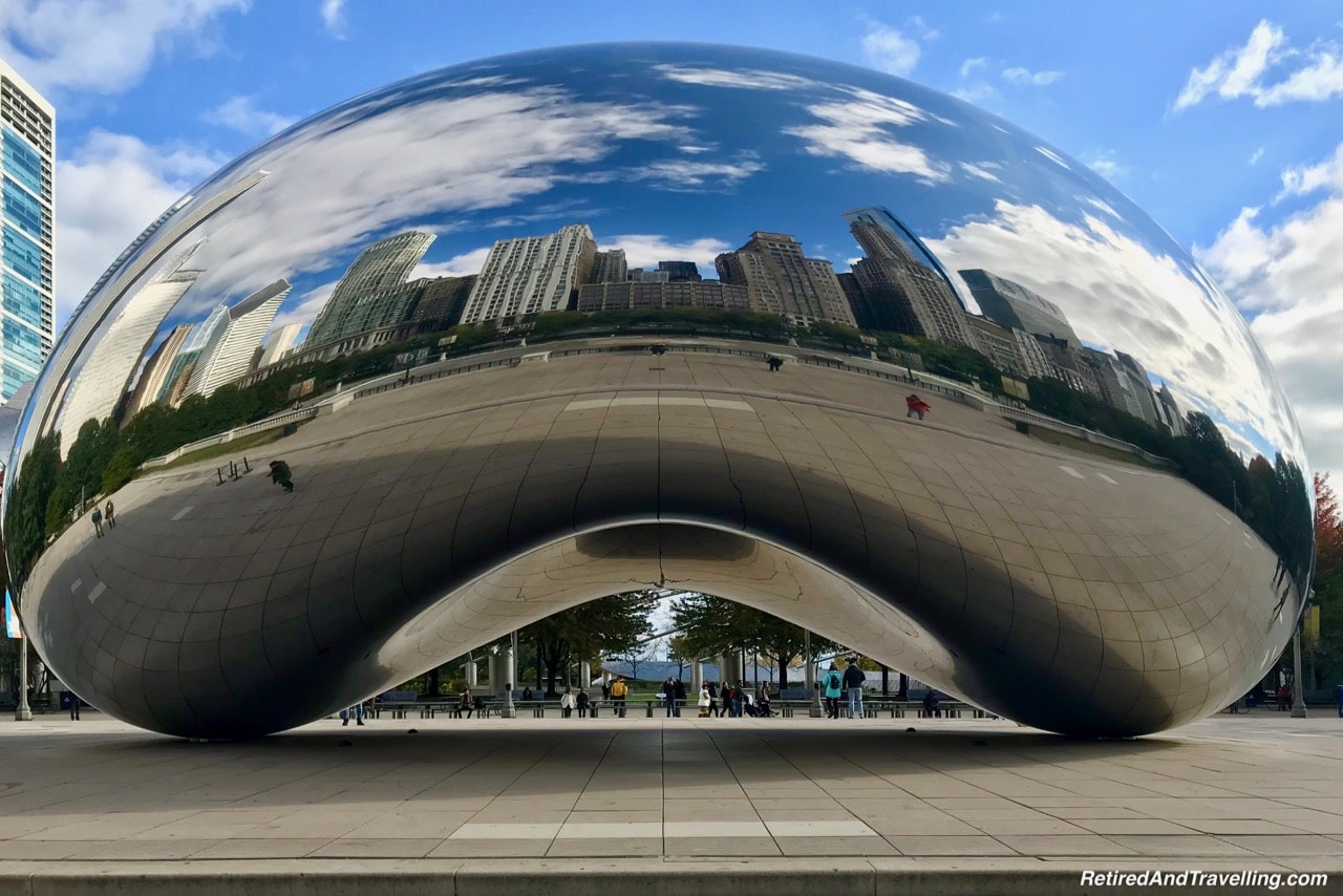 Cloud Gate Bean Millennium Park - Things To Do - 3 Days In Chicago.jpg