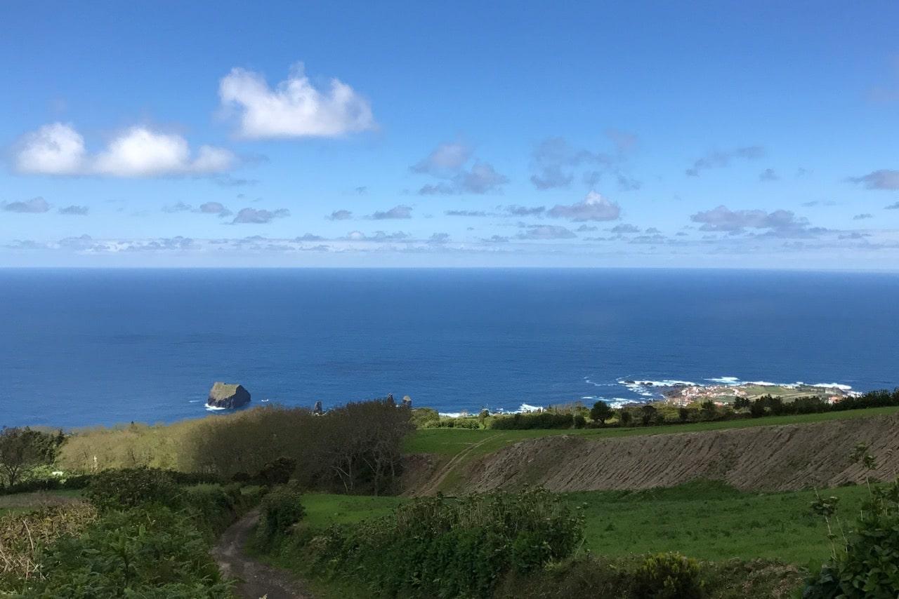 View Over Mosteiros - Volcanic Setting of Sete Cidades Sao Miguel Azores.jpg