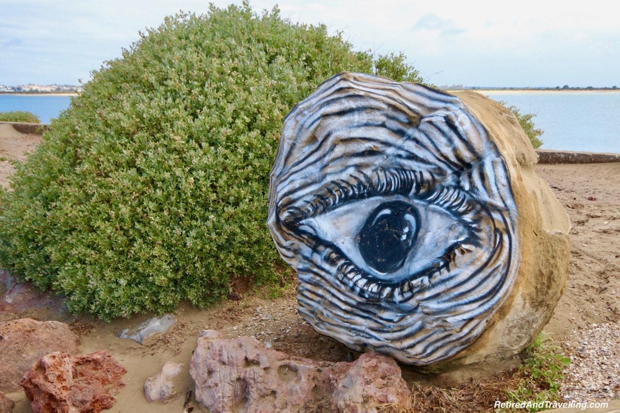 Santo Antonio Ponta da Areia Beach Art - Explore The Eastern Algarve To Spain.jpg