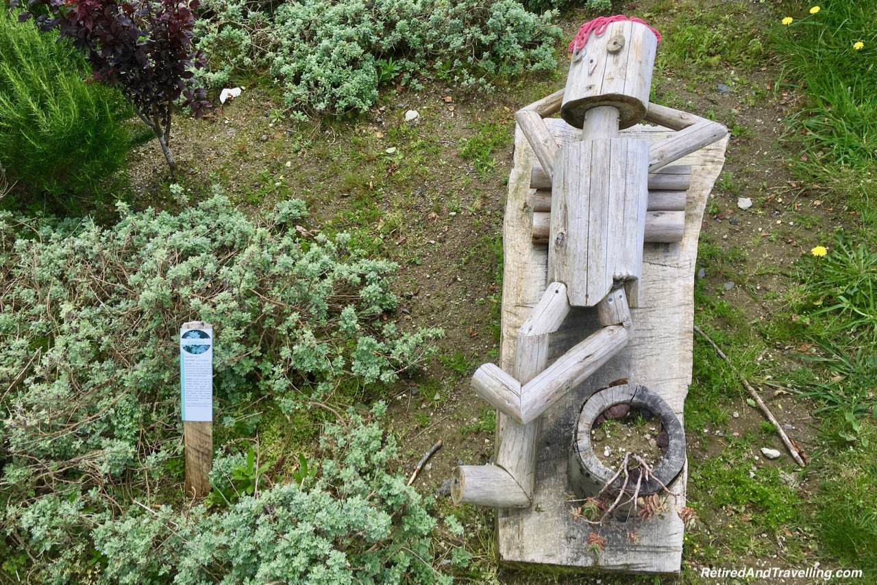 Sete Cidadas Wooden Statue Art - Volcanic Setting of Sete Cidades Sao Miguel Azores.jpg