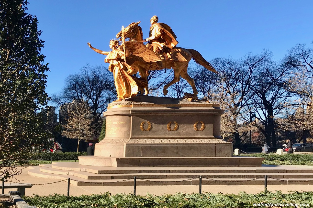 Central Park General Shermans Statue - Holiday Visit To NYC.jpg