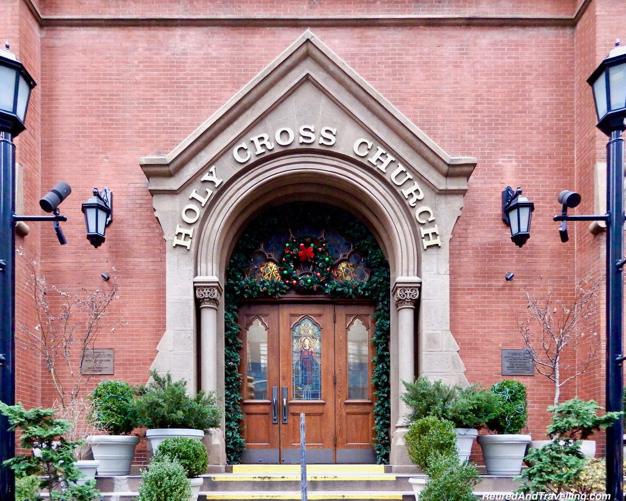 Holy Cross Church Holiday Decor - Holiday Visit To NYC.jpg