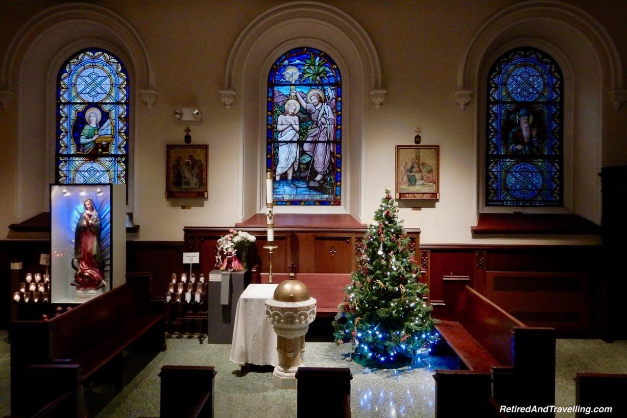 Holy Cross Church Holiday Decor - Holiday Visit To NYC.jpg