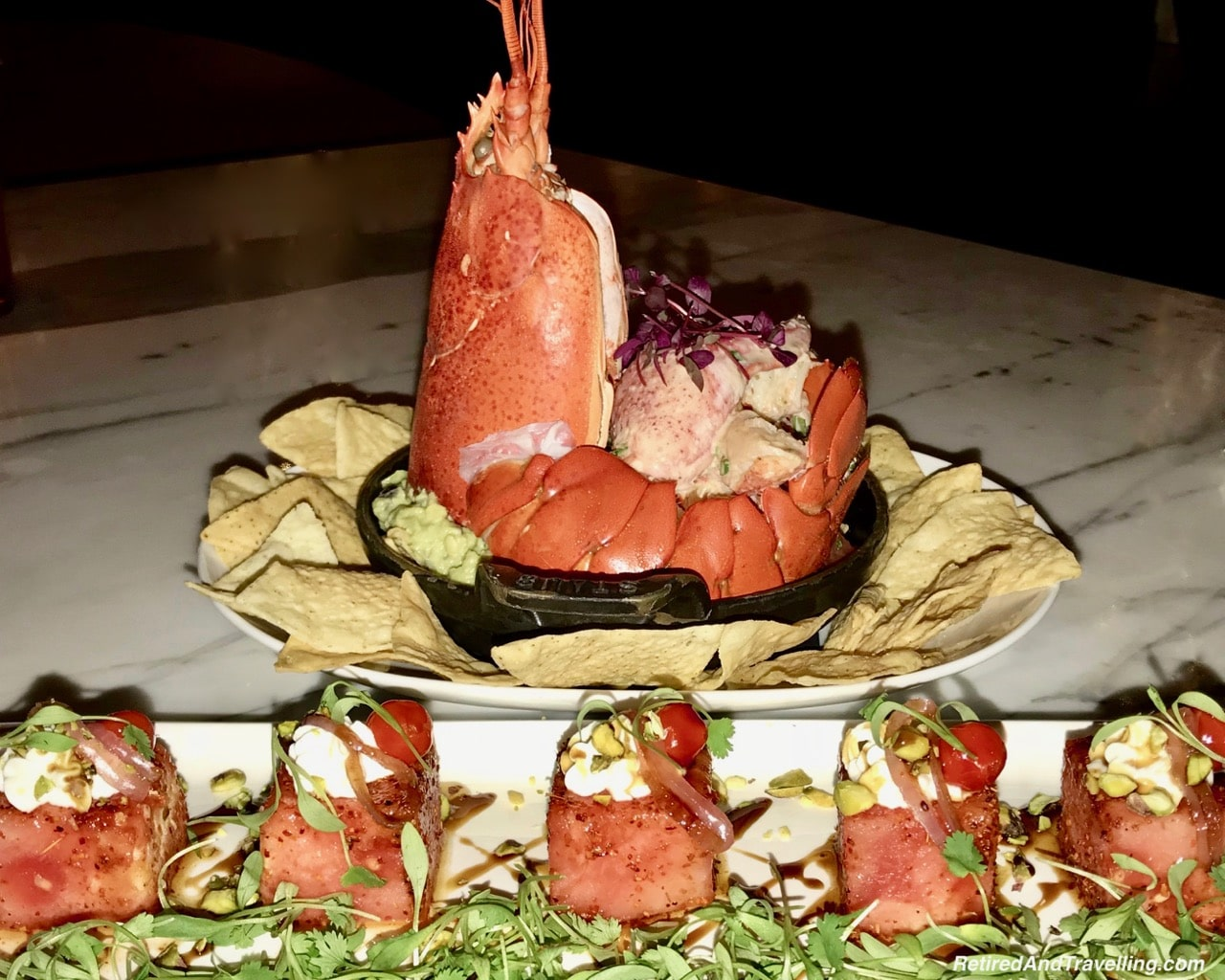 Intercontinental Times Square Stinger Lobster - NYC Food - Holiday Visit To NYC.jpg
