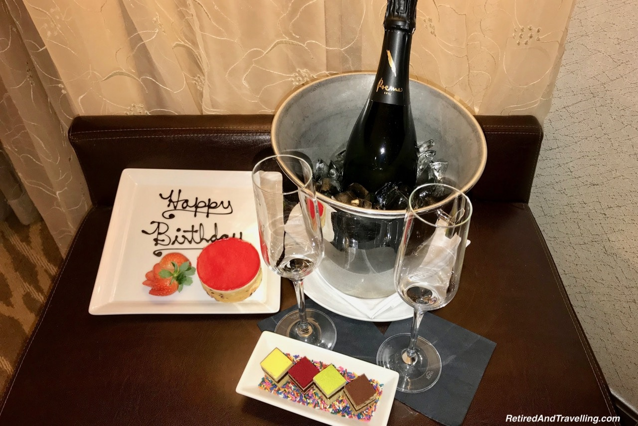Intercontinental Times Square Cake and Champagne - NYC Food - Holiday Visit To NYC.jpg