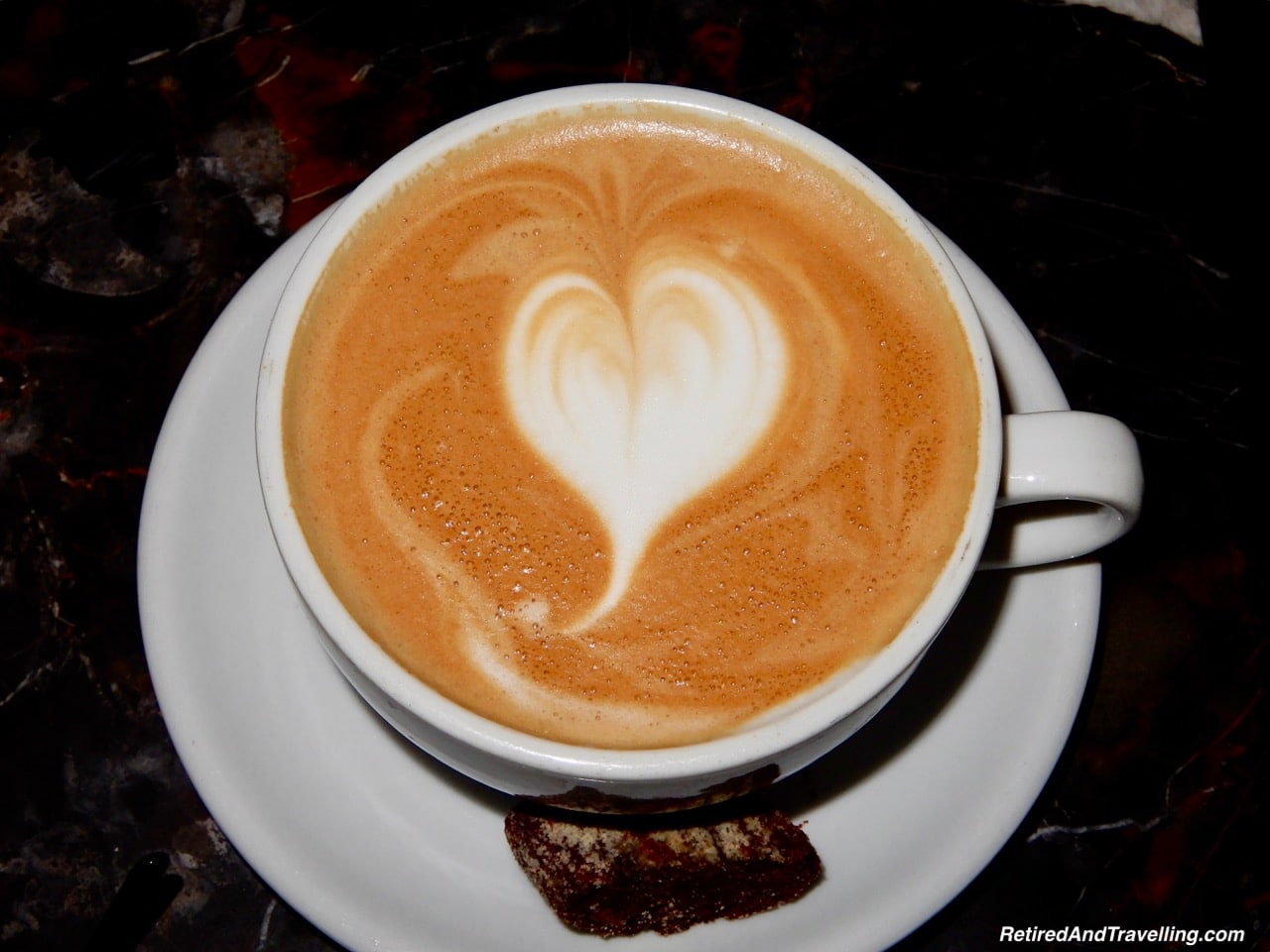 Cappuccino Knave Le Parker Meridien - NYC Food - Holiday Visit To NYC.jpg