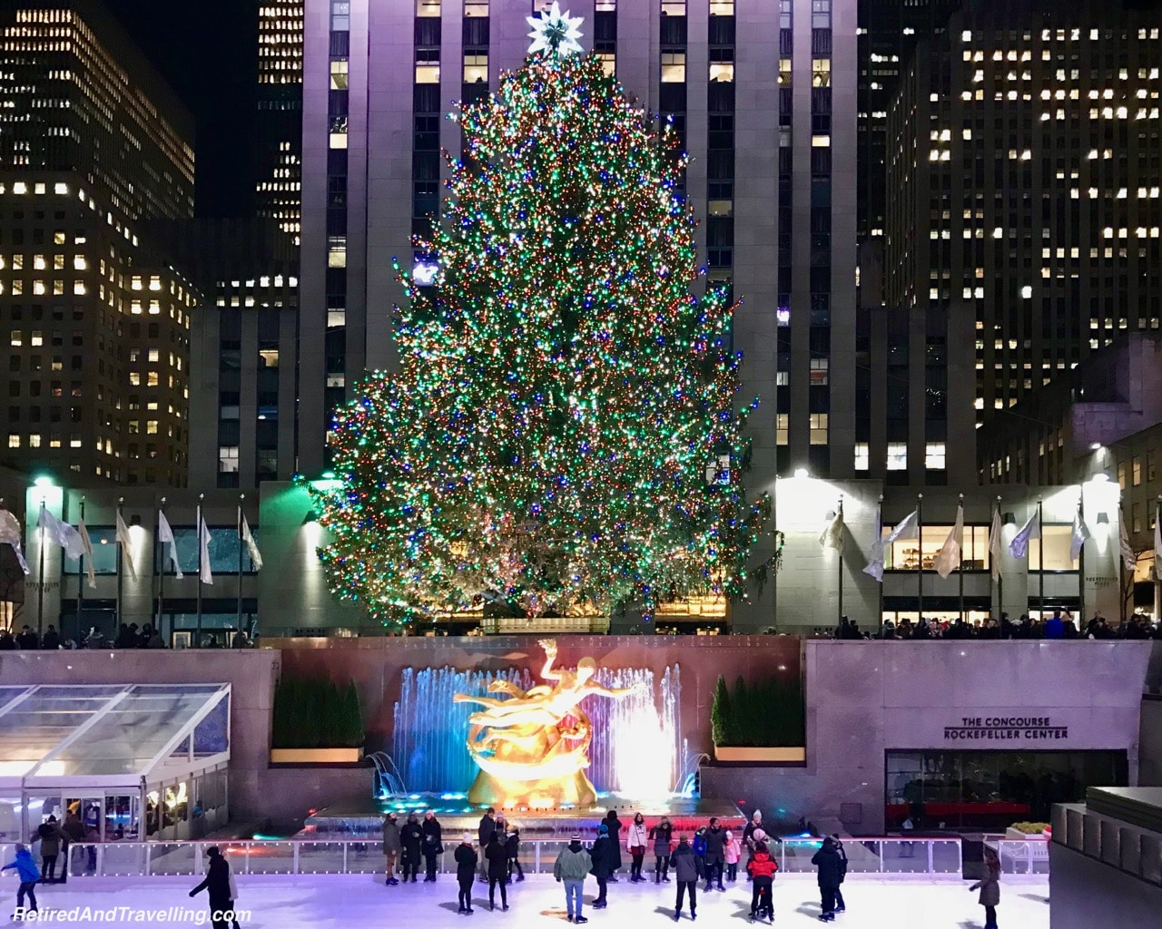Rockefeller Centre Christmas Tree and Decor - Holiday Visit To NYC.jpg