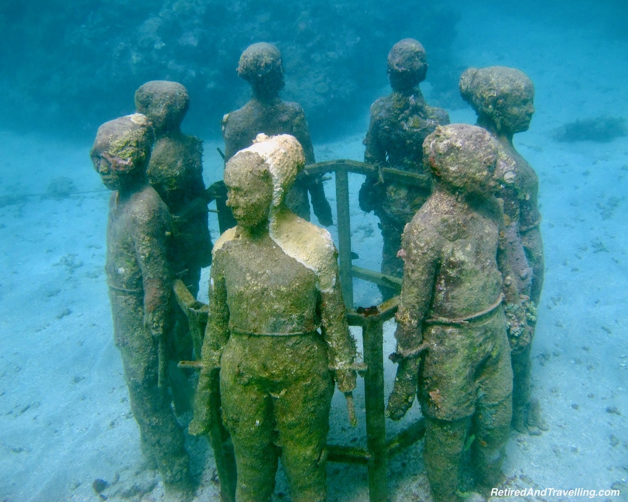 Circle of Children Underwater Sculptures With Grenada Seafaris - Explore The Underwater Sculptures in Grenada.jpg