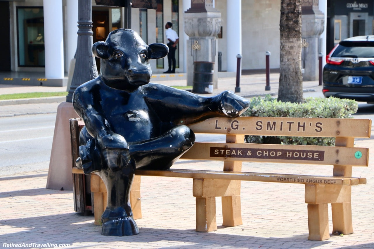 Aruba Downtown Cow Bench - Excursion To Explore Aruba.jpg