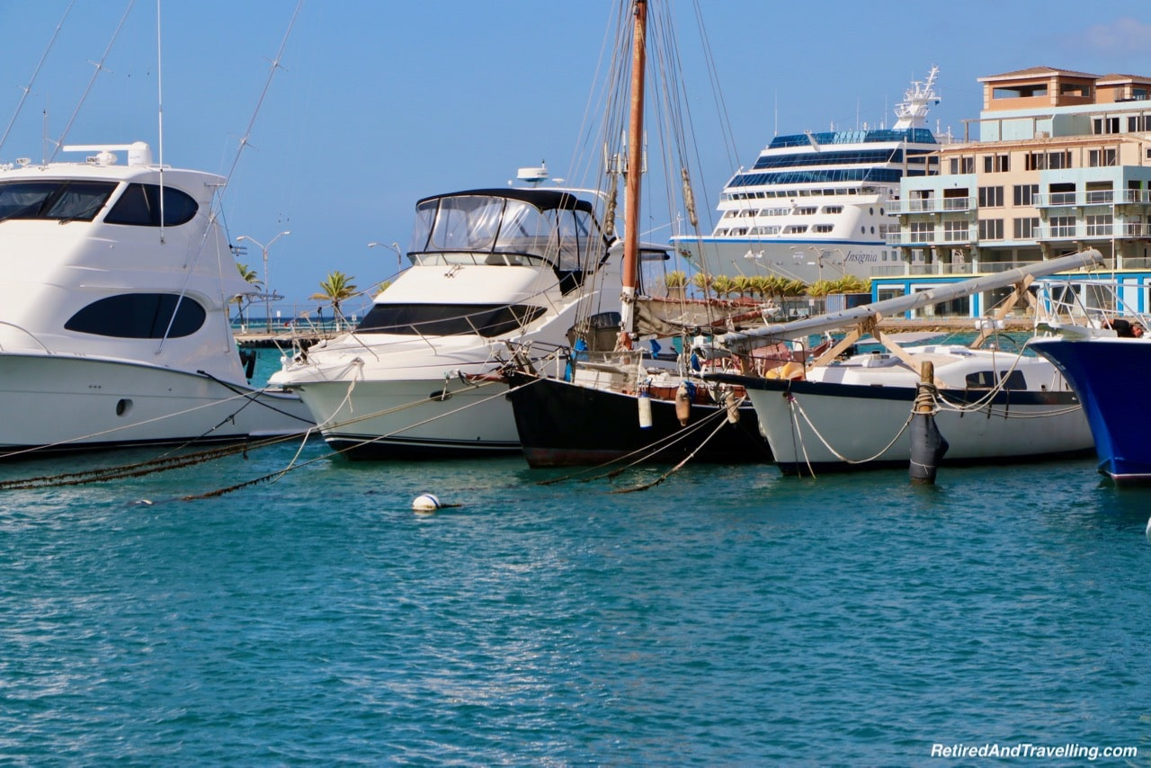 Aruba Downtown Waterfront Boats - Excursion To Explore Aruba.jpg