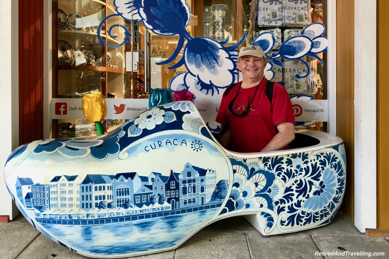Curacao Delft Blue China Shoe - Visit The ABC Islands.jpg