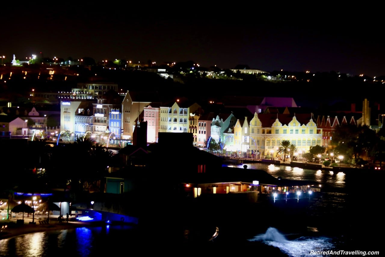 Curacao Harbour Colourful Houses Night - Visit The ABC Islands.jpg