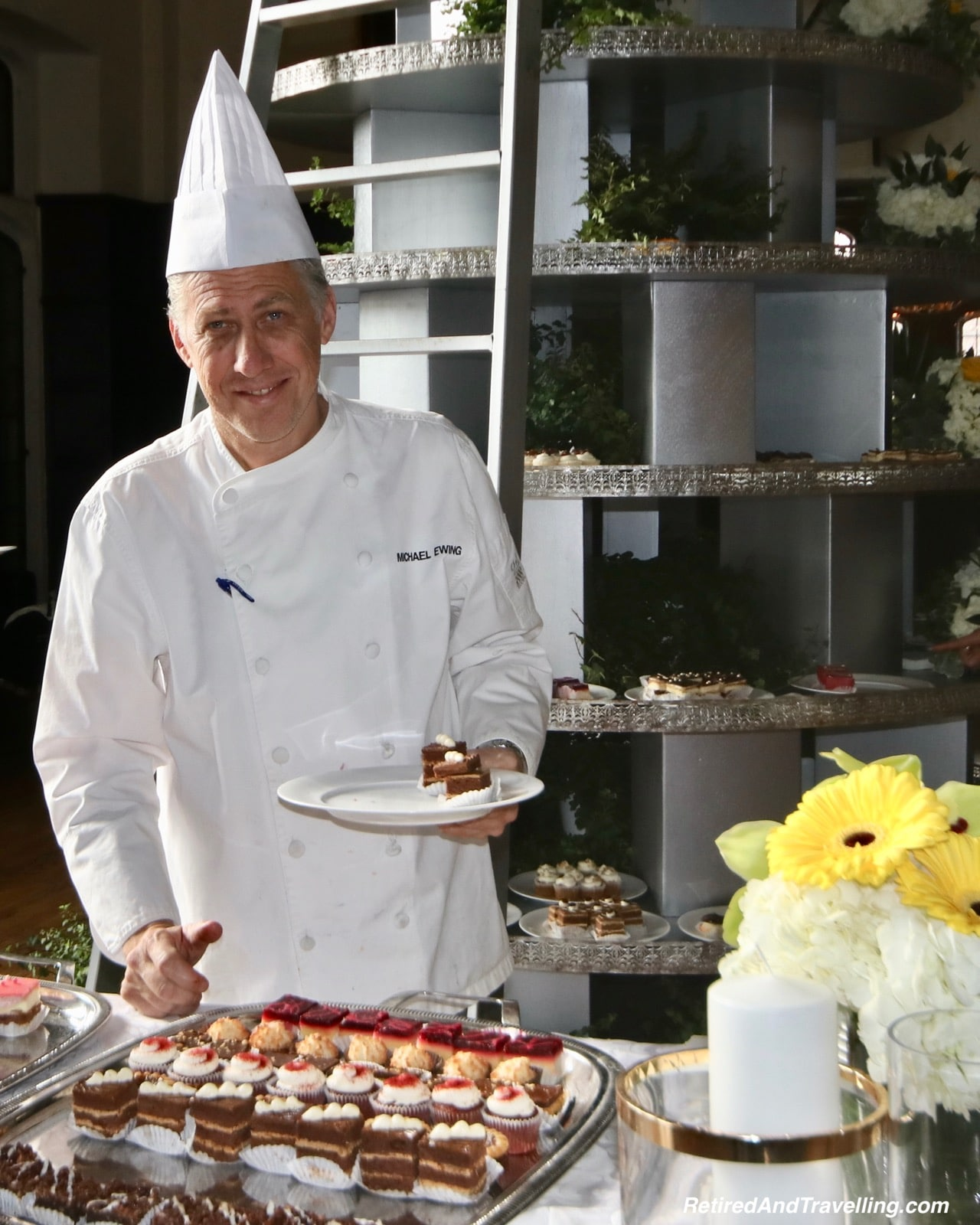 Casa Loma Afternoon Tea Sweets Tree With Chef Michael Ewing - Afternoon Tea At A Castle In Toronto.jpg
