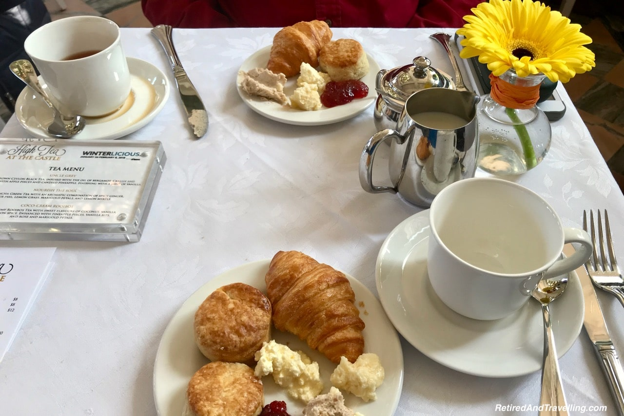 Casa Loma Afternoon Tea Scones and Croissants - Afternoon Tea At A Castle In Toronto.jpg