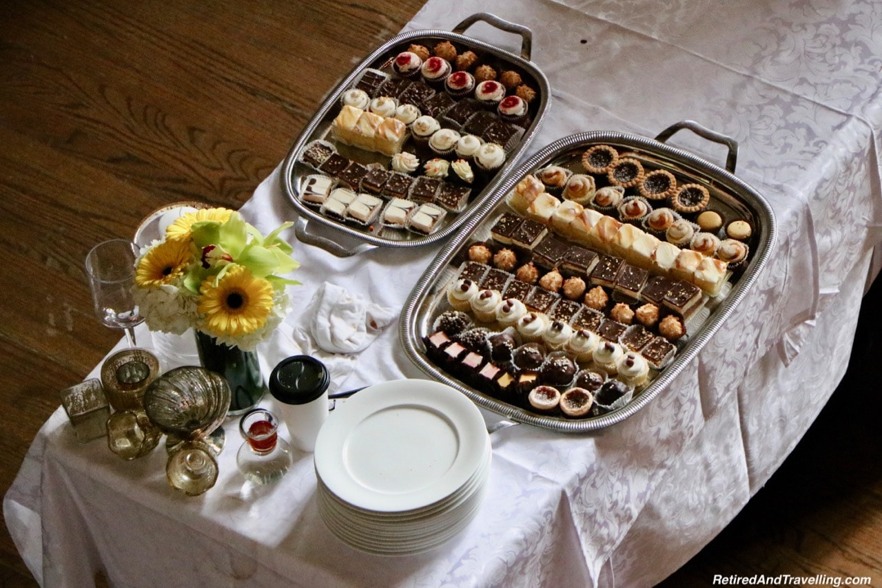 Casa Loma Afternoon Tea Sweets Tray - Afternoon Tea At A Castle In Toronto.jpg