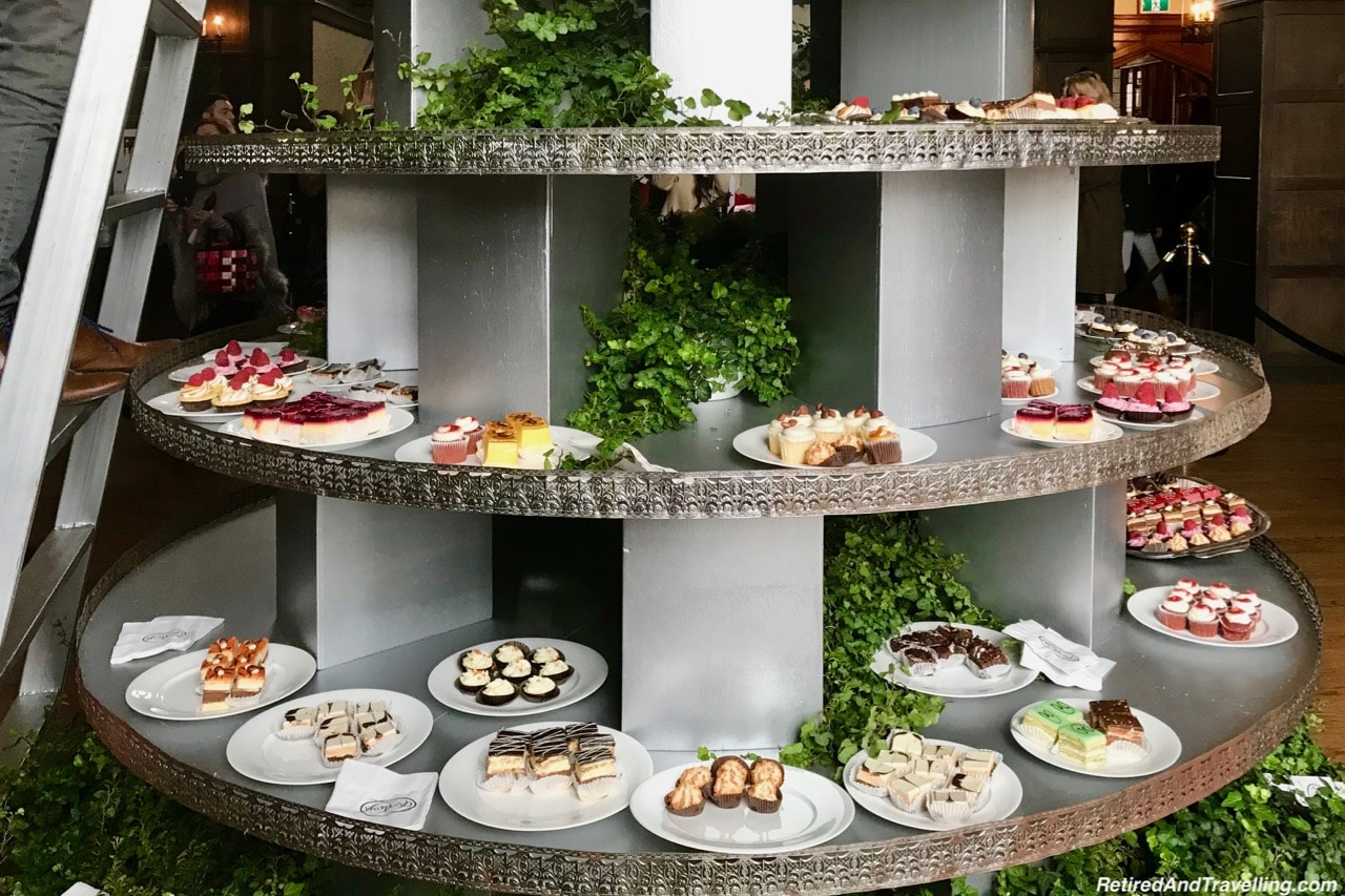 Casa Loma Afternoon Tea Sweets Tree - Afternoon Tea At A Castle In Toronto.jpg