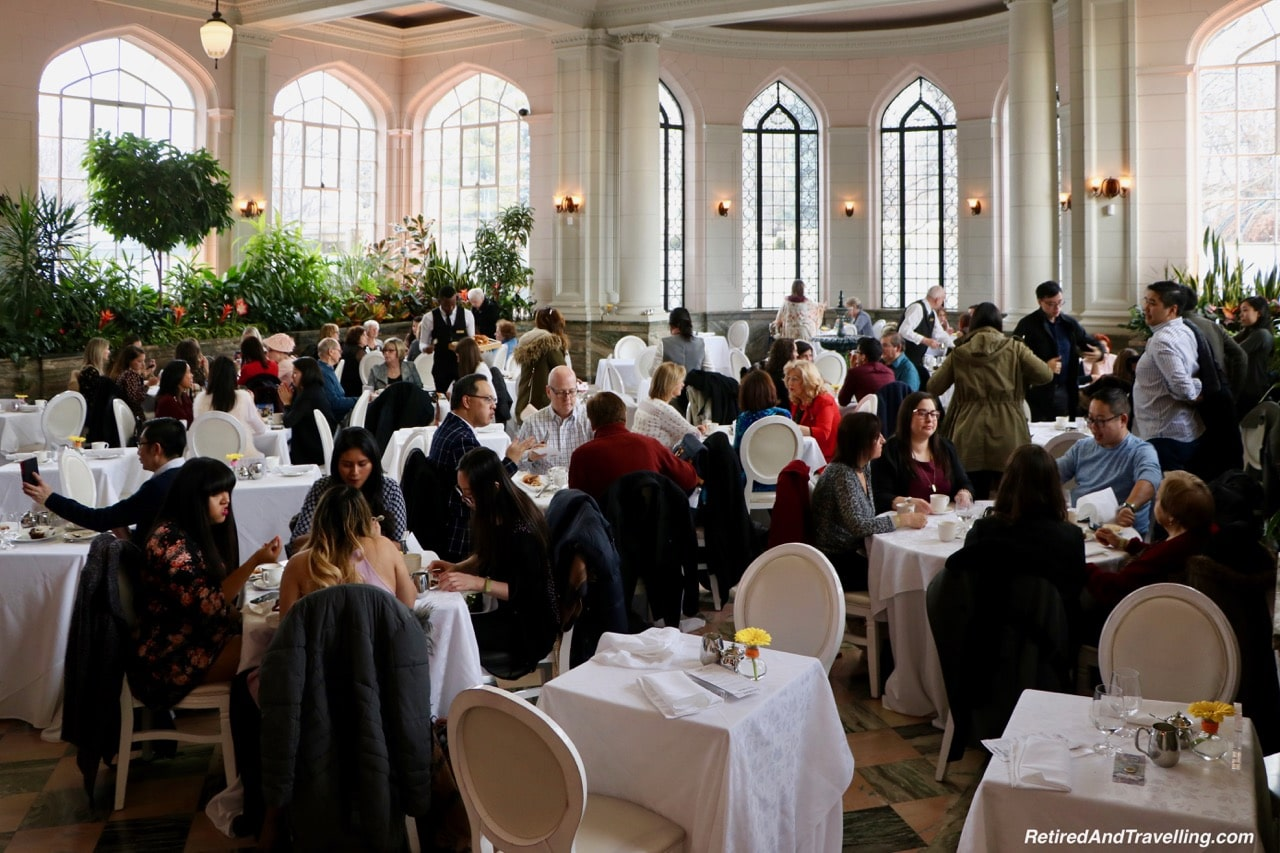 Casa Loma Afternoon Tea in the Conservatory - Afternoon Tea At A Castle In Toronto.jpg
