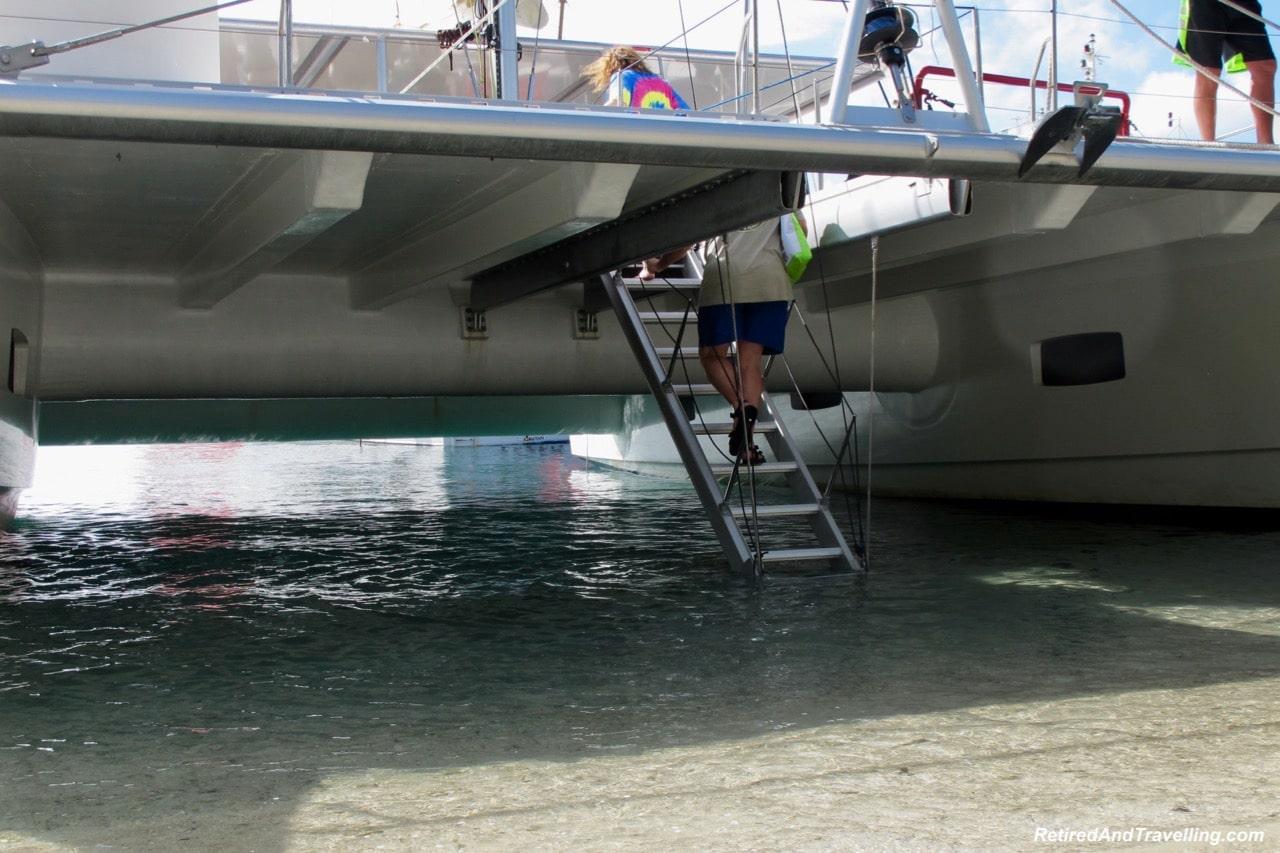 Catamaran Stairs Bequia Island - Catamaran Adventure In St. Vincent.jpg