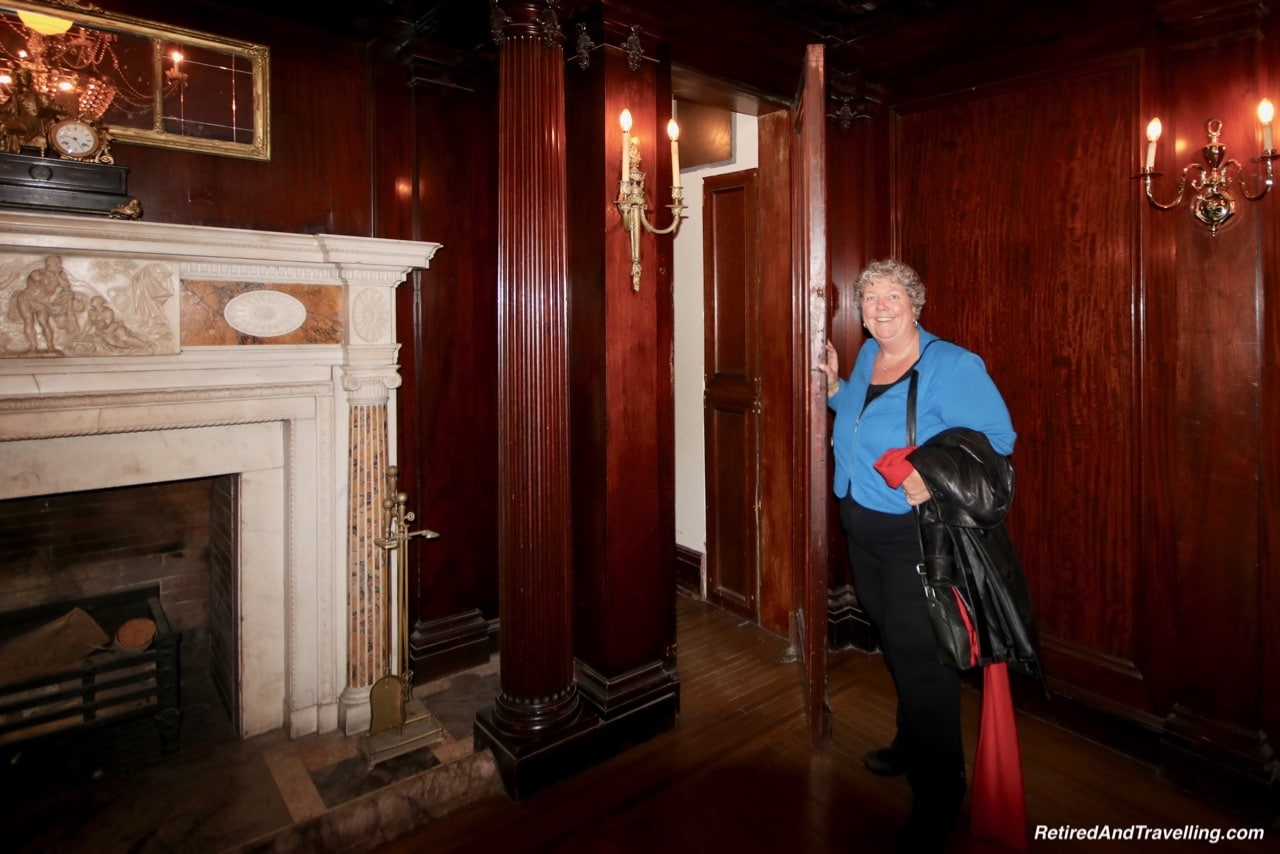 Secret Stairs in Sir Pellatts Study at Casa Loma - Afternoon Tea At A Castle In Toronto.jpg