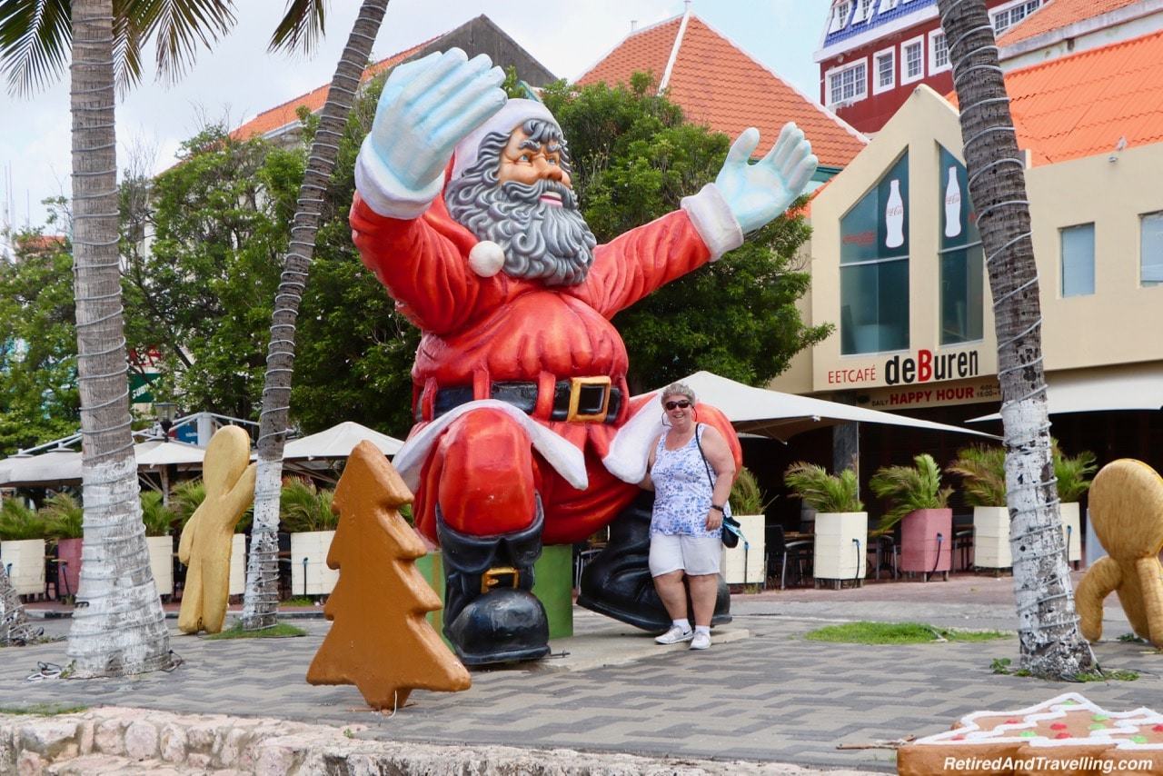 Curacao Downtown Christmas Display - Cruise To The Southern Caribbean.jpg